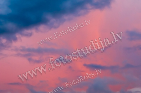 Background of colourful sky