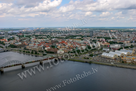 Riga from air